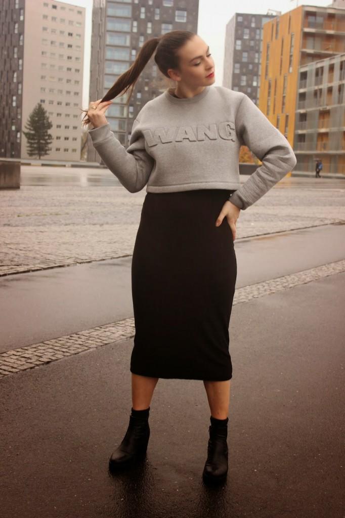 Outfit | Alexander Wang x H&M