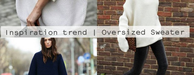 How to wear the Oversized sweater | I've selected some of my favorite streetstyle outfits with this trend now on www.highonthoseheels.com  |